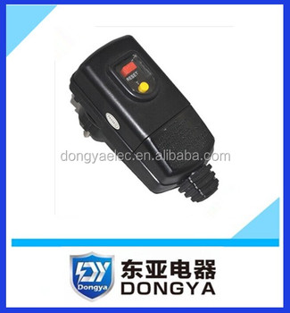 High Quality Prcd leakage protection plug in 230V