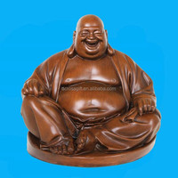 Hotsale resin laughing buddha statue