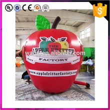Custom made advertising use giant inflatable apple