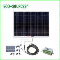 180W 24V Poly Off grid System/solar panel kits for home grid system