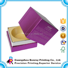 Custom Cardboard box printing/Gift tuck in box /cosmetic packaging box printing