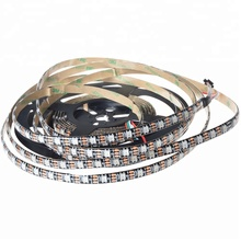 Mayki IP67 waterproof WS2812B <strong>RGB</strong> LED Light Strip 30/60/144 Pixel LEDs/m DC5V SMD5050
