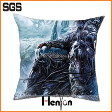 custom printed fabric world of warcraft pillow cover