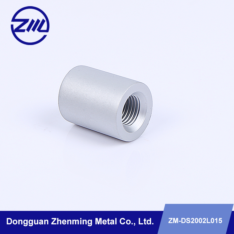 aluminum threaded sleeve for cleaning machines cnc spare parts
