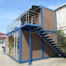 Container Hotel Room Modular Container Domitory Apartment
