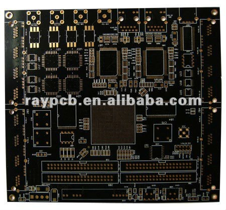 2.0 mm 10 layer FR4 TG135 PCB