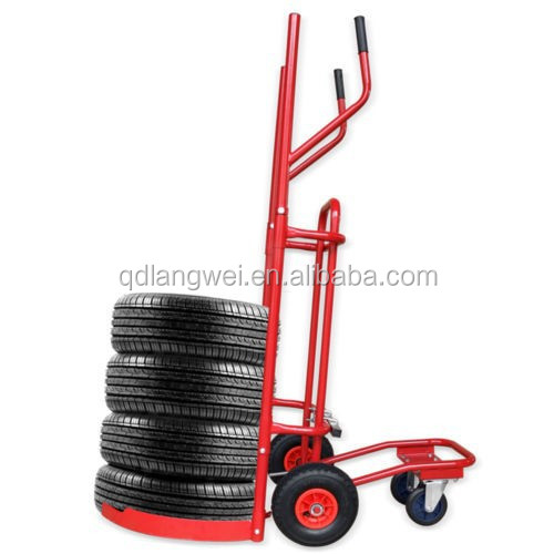 Moving Tire carts with 4 wheel