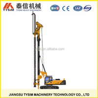 civil engineering equipment, digging machine, KR125M CFA Hydraulic rotary drill rig