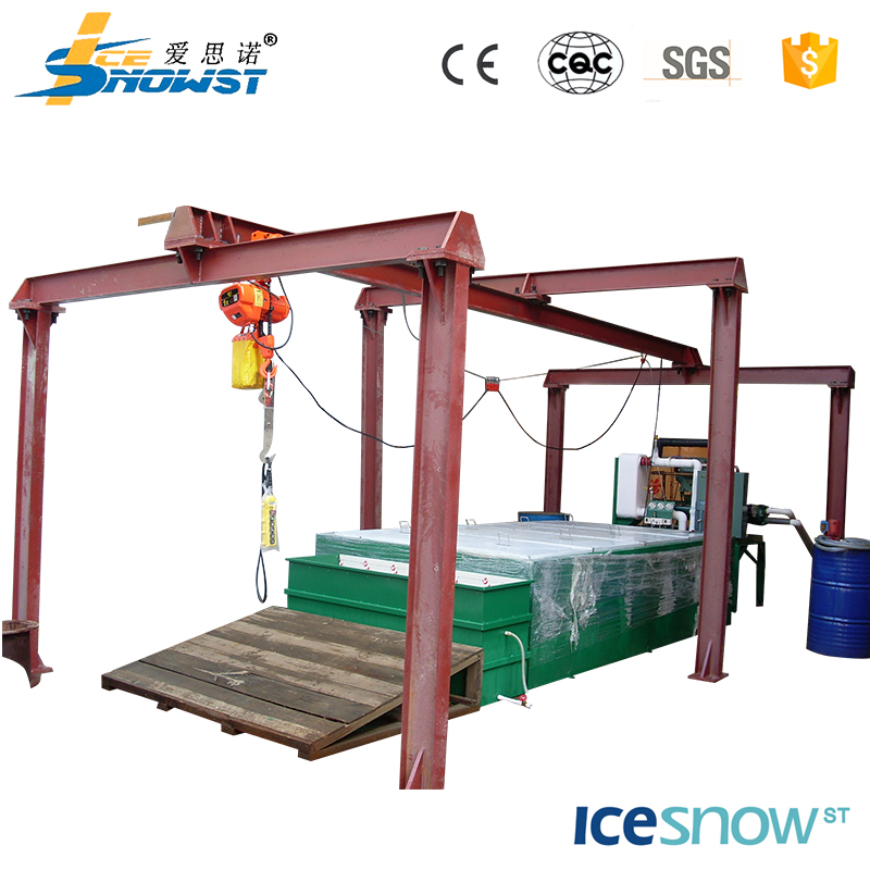 1 ton daily output ice block making machine for meat processing