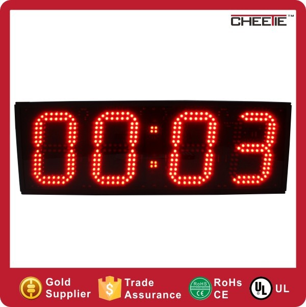 4 Digits Large Stopwatch Countdown Timer LED Professional Sports Timer