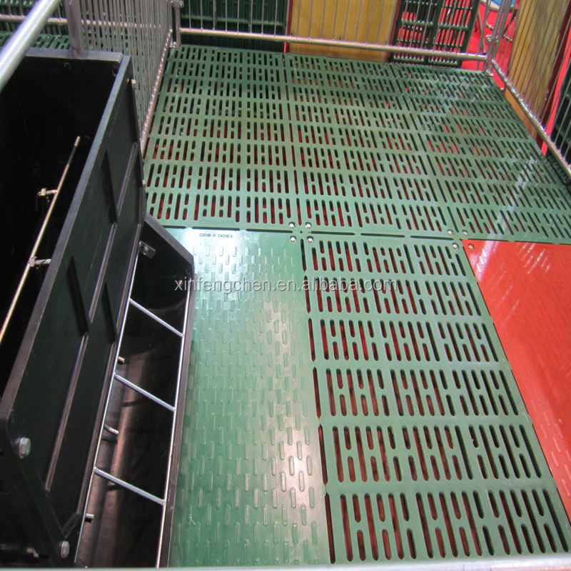 factory supply high quality pig plastic slat floor for sale