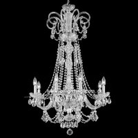 Modern wedding decor Chinese crystal fancy lamp