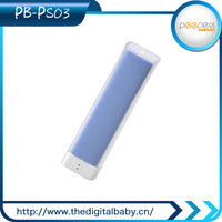 2015 china manufacturer electronics led torch light portable power bank colourful power bank 2600 mah