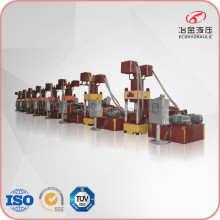 heavy-duty automatic hydraulic scrap metal chip briquetting machine