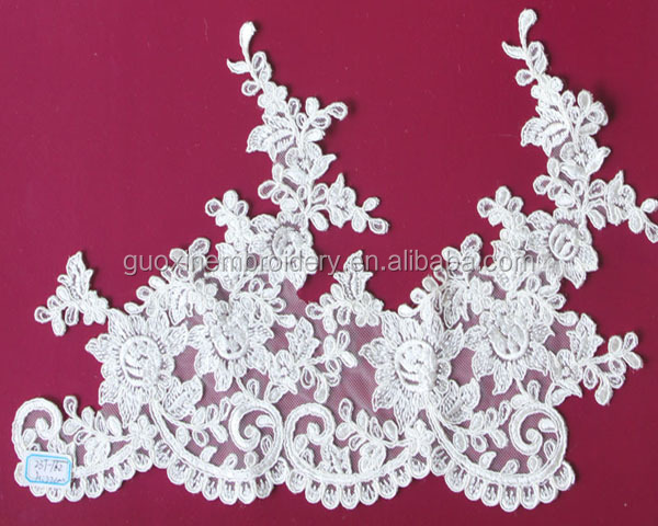 Nice looking Lace Edging /Lace Trimming For wedding dress 2015