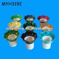 Slim Mini Ceramic Inner pot for African Violet Pot