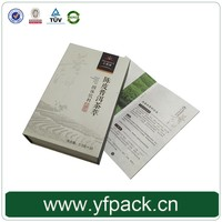 Book Shape Magnetic Flapped Matt Lamination Custom Printing Grease Proof With Compartment Tea Paper Box