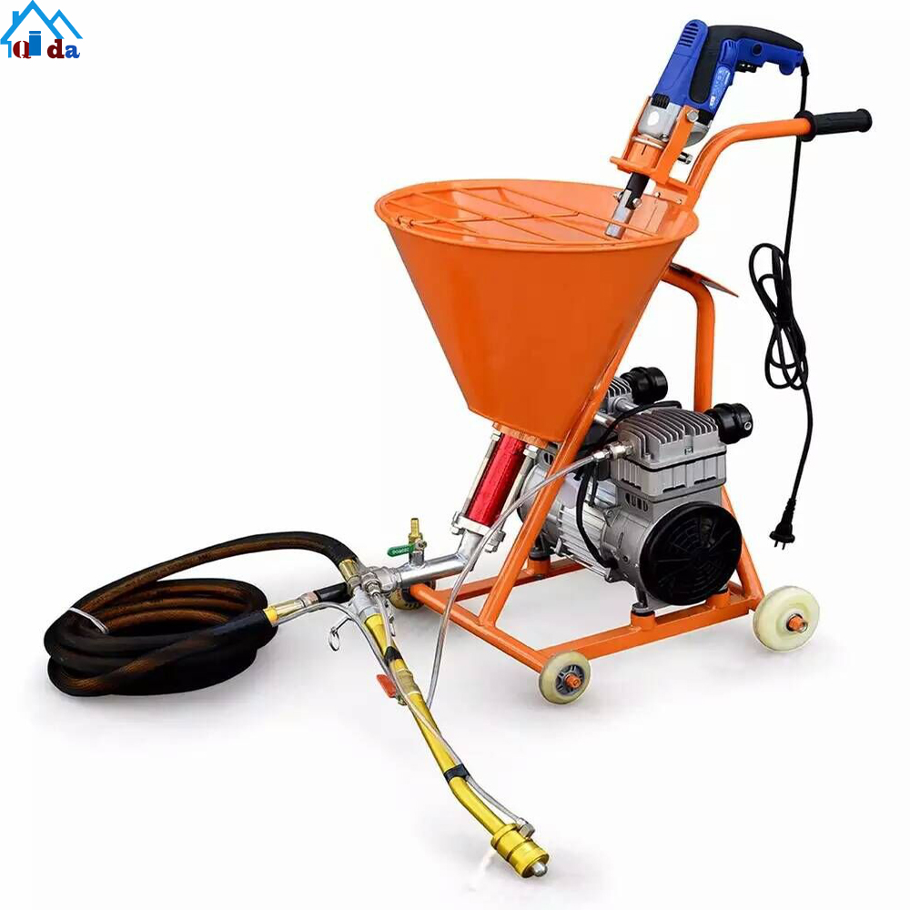 High Pressure Steel Material Cement Mortar Sprayer For Sale