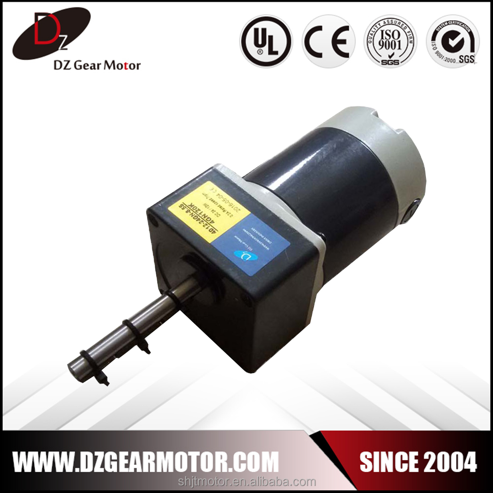 Come on Cost-effective 30w 3000rpm brushed dc motor