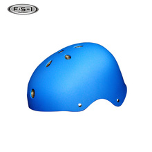 ABS shell blue color outdoor sport youth skiing helmets customized helmet hockey price