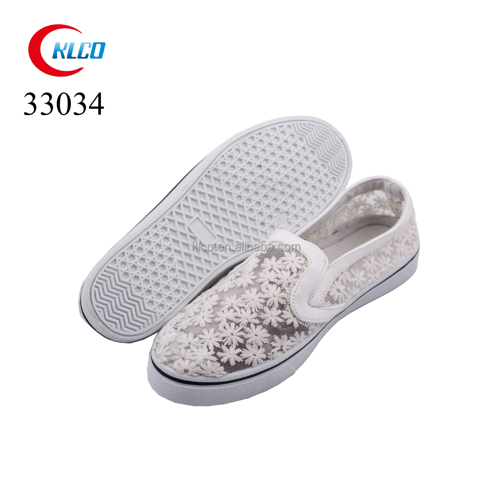 hot sale custom brand fashion casual fancy lady woman shoe