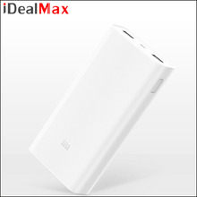 New Original Mi Power Bank 2 20000mAh Portable Charger Dual USB Mi Powerbank External Battery Pack For iPhone Android Phone
