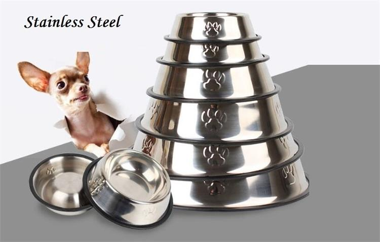 High Quality Various Color Double Stainless Steel double dog bowl stand
