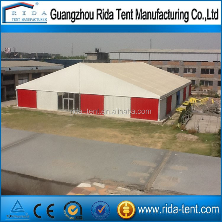 safely warehouse tent for sale, strong aluminum storage tent with hard wall system