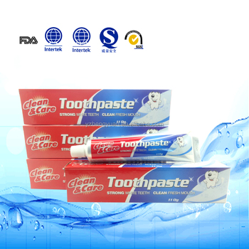 OEM toothpaste 110g, private label