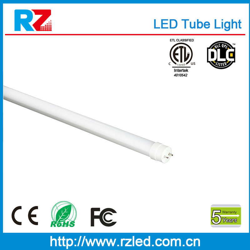Energy Saving Lamp ETL 18W 140lm/w 4ft led tube light fixture