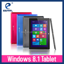 10.1 inch Quad core Windows tablet pc intel 1280*800 Screen 2GB DDR 32GB/64GB HDD With Keyboard Detachable 3G Option