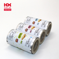 Crispy food metalized roll film snack cracker laminated film