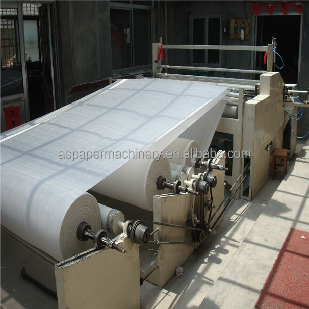 Automatic Electrical Motor Facial Tissue Paper Rewinding