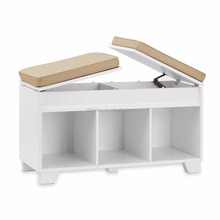 adjustable wood shoe cabinet design shoe stool for home
