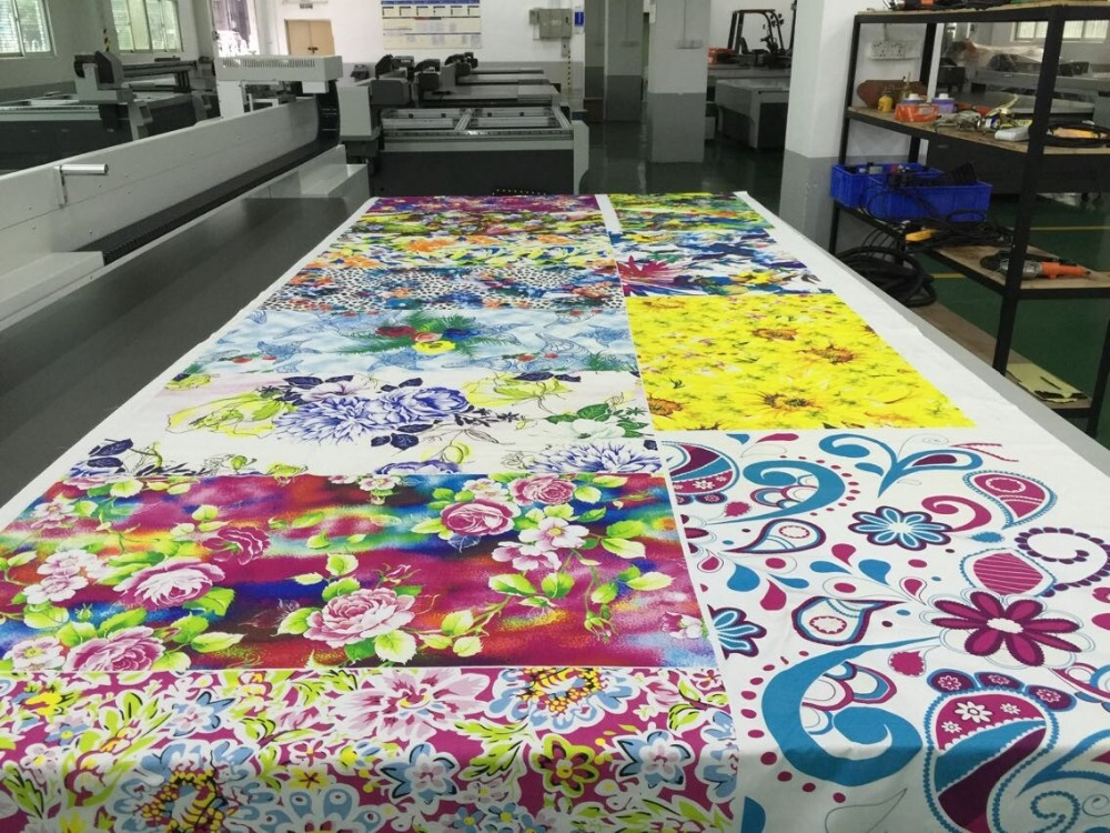 High speed digital printer direct on fabric printer
