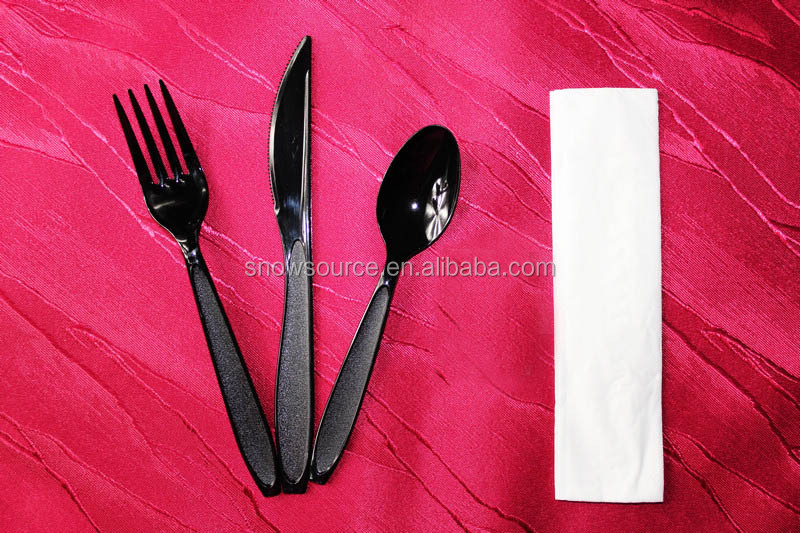 Polystyrene Light Weight Disposable Tableware, Disposable Cutlery Set