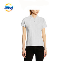 Fancy design womens high quality dry fit polo tshirts cheap in bulk