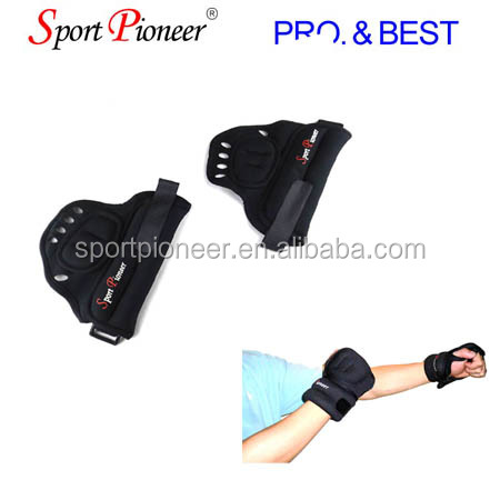 Weight Lifting Gym Gloves Workout Wrist Wrap Sports Exercise Training <strong>Fitness</strong>