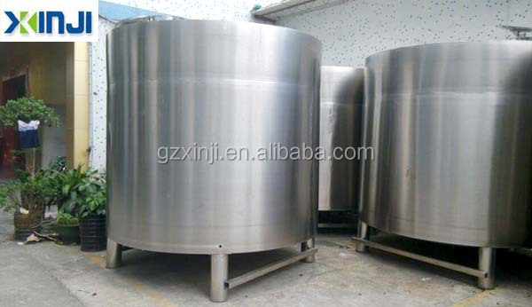 Stainless steel oil crude storage tank
