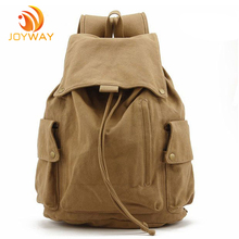 High Quality 16oz Canvas Custom Backpack Manufacturer Military Backpack