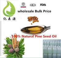 Organic Certificated Raw Pine Kernel Oil Natural Pine Needle OIl Wholesale Bulk Pine Nut Oil Prices Offer 180 KG Drum