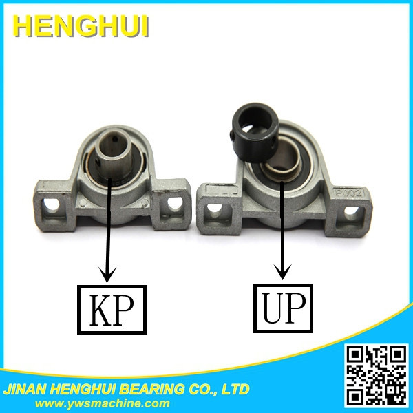 flanged type UP000 zinc alloy pillow block bearing unit UP000