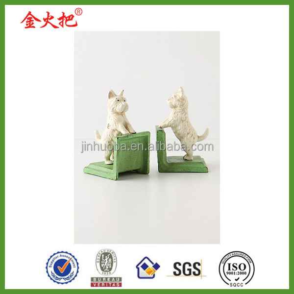 Wholesale polyresin bentle the westie dogs bookends