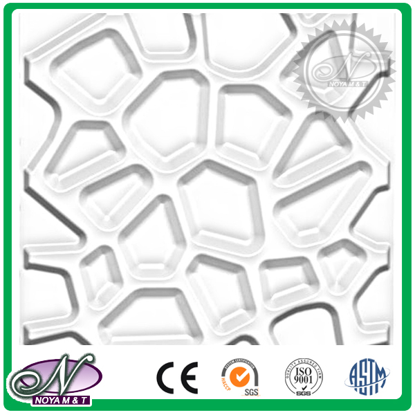 Stamping forming 3d decoration stone wall panel