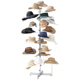 "NEW - Casual Outfitters Retail Floor Hat Rack 72"" Tall Holds 20 Hats"