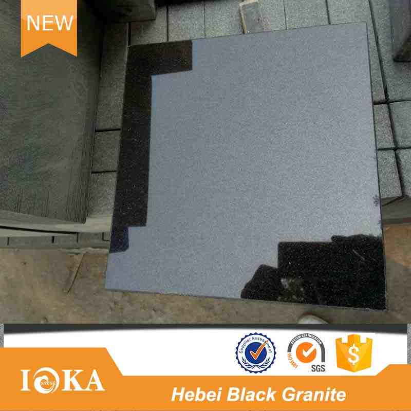 Absolute black granite tiles 600x600