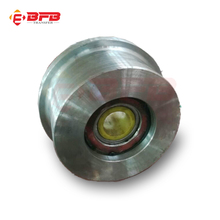 single rim steel material forged train wheels for sale