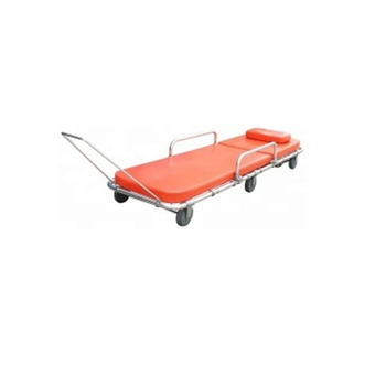 AC-AS014 Ambulance used hospital equipment for sale medical Patient Military folding with wheels first aid emergency stretcher