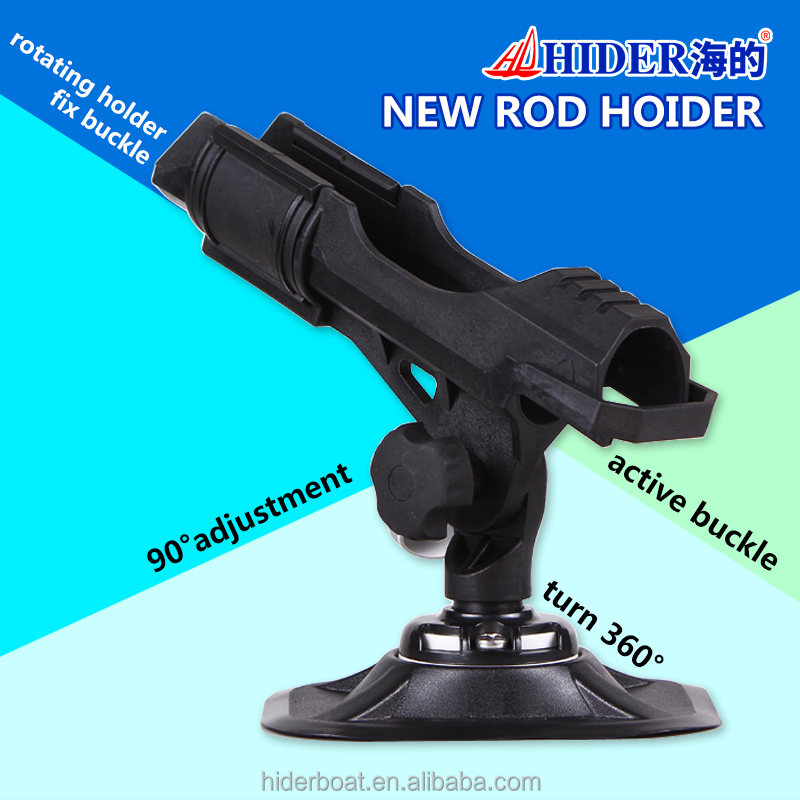 Hider high quality new PA 66 adjustable removable rod holder for fishing boat