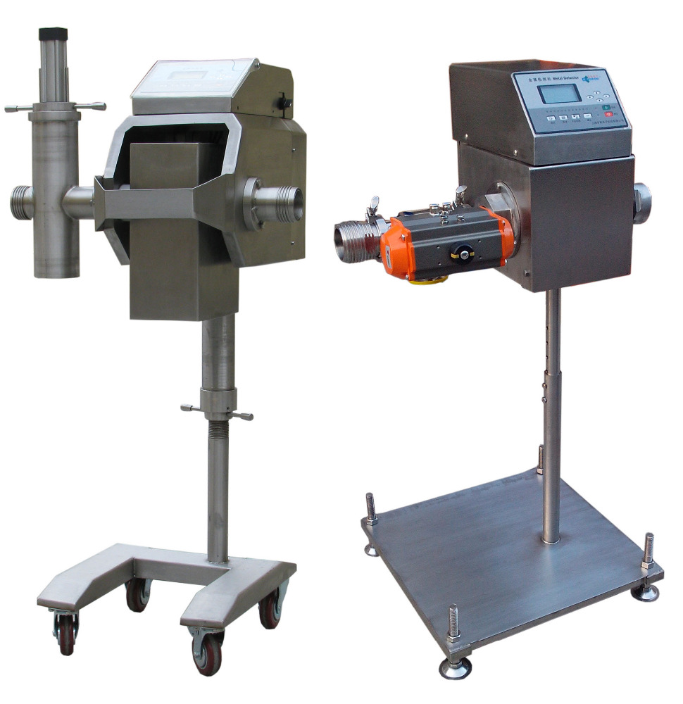 food sause metal detector for meat, flour products,dried fruit,vegetables ,chemical materials